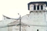 未完全倒塌的教堂
