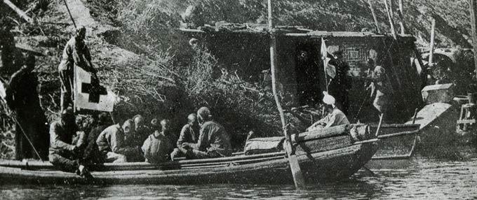 中国红会在抗日战争中投入战地救护工作