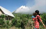 火山附近的村庄