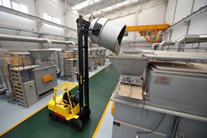 高安屯餐厨垃圾处理工程进入设备调试阶段(图)