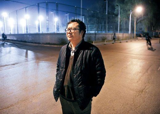 于建嵘,2010年12月3日摄于北京大学。