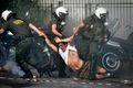 铜奖:加沙抗议