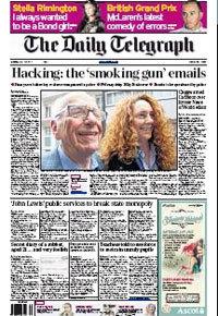 英国《每日电讯报》