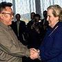 2000年10月美国国务卿奥尔布赖特访问朝鲜