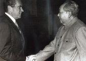 1972年2月 毛泽东会见尼克松
