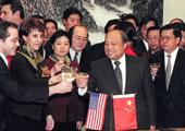 1999年11月 中美签署中国加入世贸协议