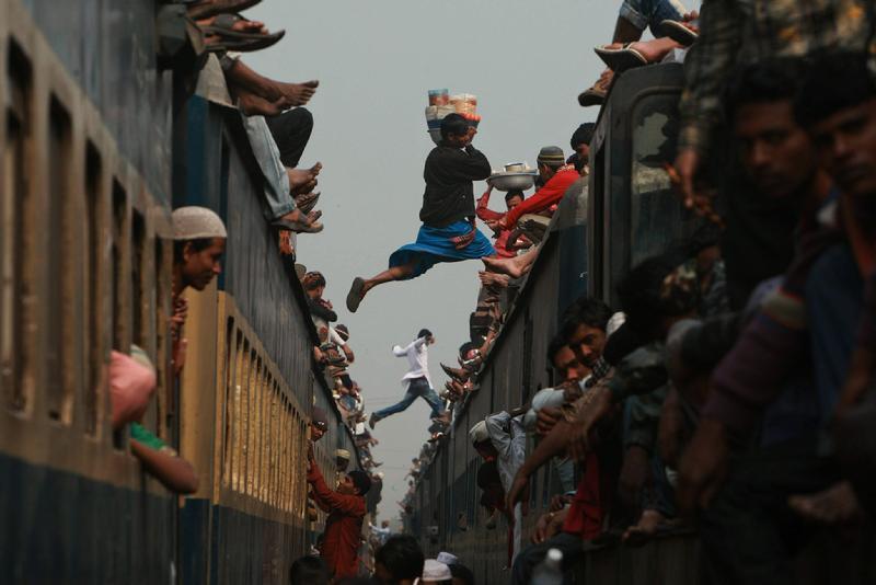 金奖:跳跃超载列车