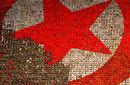 朝鲜十万人拼组巨画庆祝建国64周年