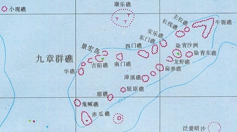 中国南海被占岛屿中越南占领的最多