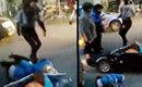 实拍宝马女司机与女子擦撞对其拳打脚踢