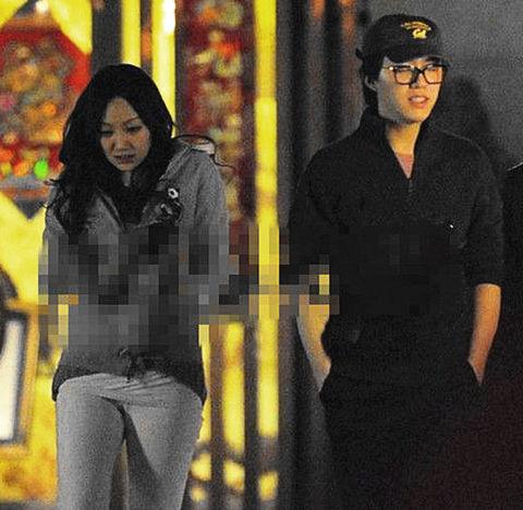 李云迪和田霏曾在年初被媒体拍到