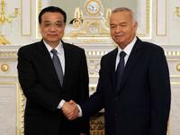 李克强抵达塔什干出席上合组织第十二次会议