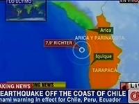智利西海岸8.2级地震已致6人死亡