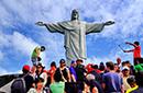 去里约基督像朝圣足球