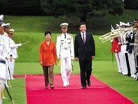 习近平:中韩要做携手振兴亚洲的伙伴