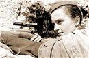 战争史上美女狙击手