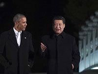 中美领导人夜游中南海 在瀛台会晤