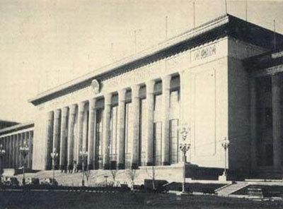 万里指挥修建的十大建筑之一――人民大会堂