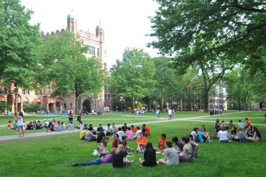 耶鲁大学是很多富二代乐于选择的学校