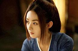 赵丽颖入选亚洲第一美 圆脸的春天来了