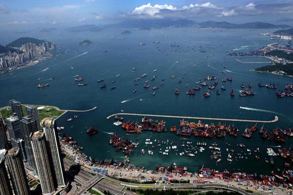 东方明珠 香港图片