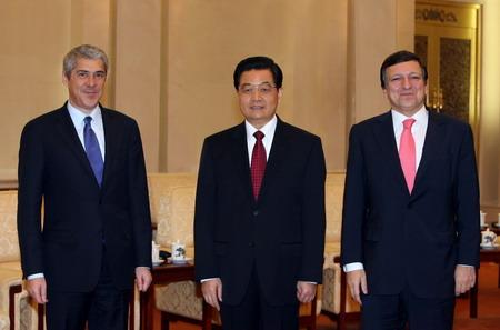 胡锦涛会见欧盟领导人(图)