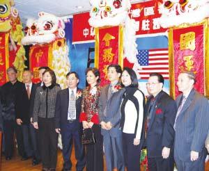 中国驻旧金山新任总领事高占生到任