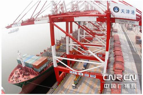 天津港联盟国际集装箱码头