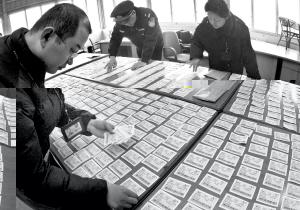 居民楼搜出535张紧俏票