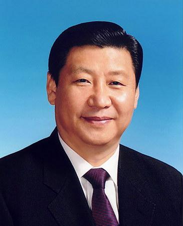 胡锦涛当选国家主席习近平任副主席