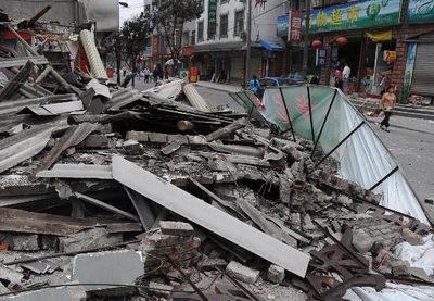 四川北川县估计死亡人数达3000至5000人