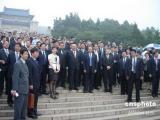 """吴伯雄称大陆领导一线救灾是""""人民最大""""表征"""