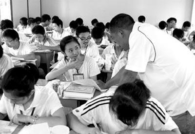 北川中学在高考日继续复习备战延期高考