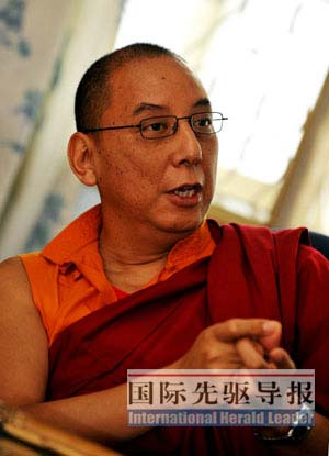 藏传佛教教派领袖揭露达赖实施宗教迫害(图)