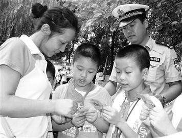 小学生出行请文明叔叔年级家访阿姨牛津上海版一小学英语图片