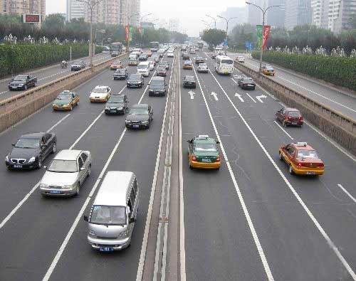 北京交管部门九项措施应对奥运后交通
