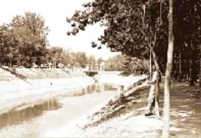 金水河:郑州胸前的美丽玉练(组图)