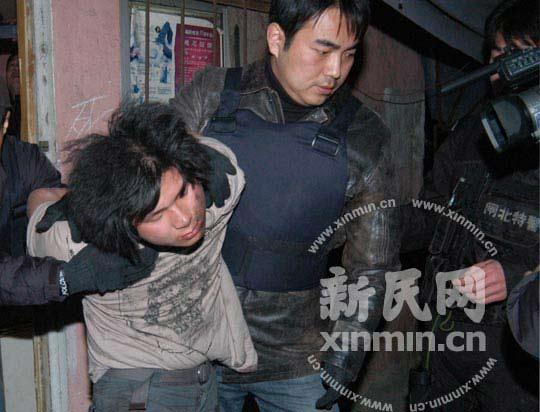 情趣持刀劫持两名人质被上海歹徒制服(图)alluregirl特警图片