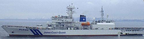 日本在中国钓鱼岛海域常驻巡视船