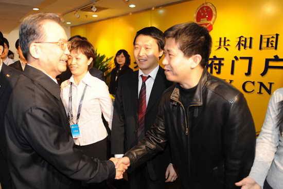 温家宝称中国金融运行稳定健康