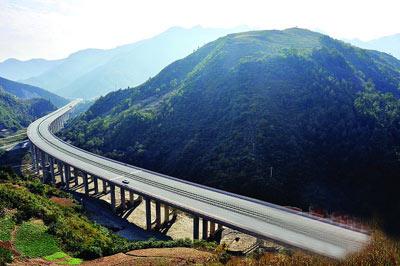 陕西出省高速公路通道增至10个(组图)