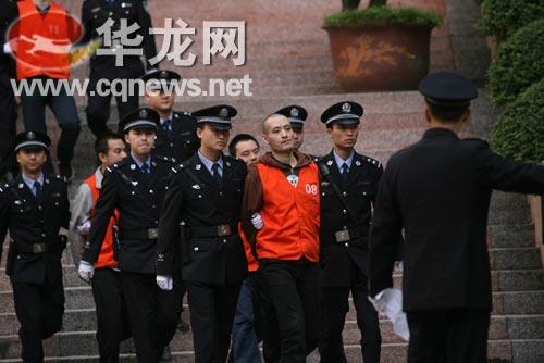 谢才萍情人罗璇获刑4年6个月(图)