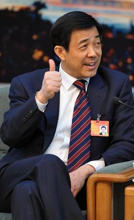 薄熙来回应李庄案称庭审合理合法(图)