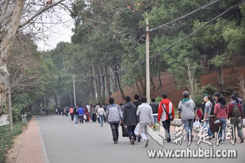 武汉马鞍山森林公园-春日踏青好去处(图)