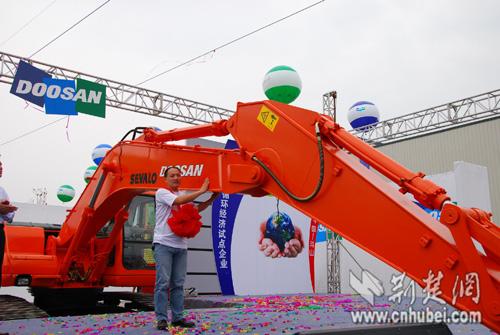 武汉市东西湖区工程机械再制造基地投产