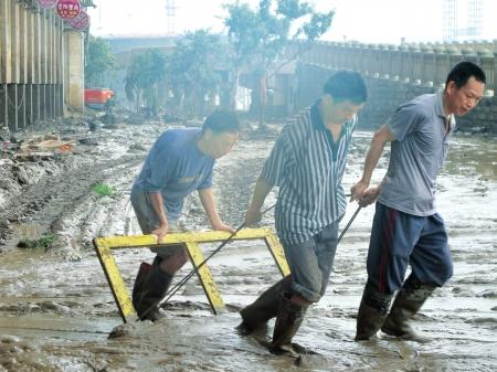 四川渠县洪灾三年一次城市建设影响河流泄洪