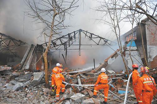 南京工厂爆炸爆炸事件挖掘司机已被控制