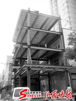 这种钢结构框架楼一般用于企业厂房