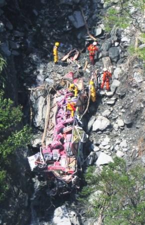 在台失踪大陆游客搜救行动寻获5具遗体