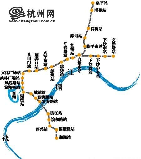 杭州地铁一处施工便道塌方河水倒灌(图)